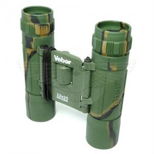 Бинокль Veber Sport БН 12х25 камуфлированный