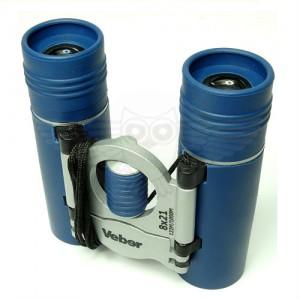 Бинокль Veber Sport БН 8х21 синий