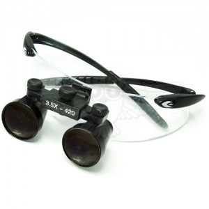 Лупа-очки бинокулярная Микмед HR 350R 3,5х f=420