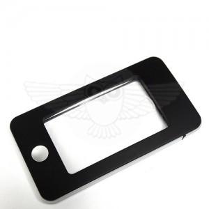 Лупа прямоугольная 5х с подсветкой и футляром, черная (iPhone)