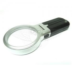 Лупа просмотровая 3х d= 65 мм, раскладка с подсветкой