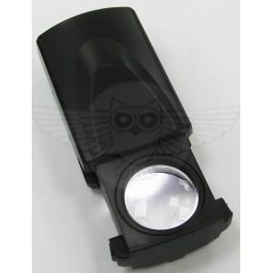 Лупа ювелирная 30х d=21мм, с подсветкой в футляре