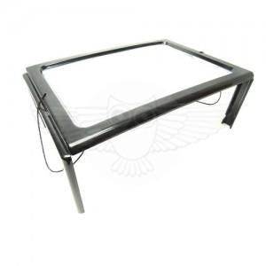 Линза Френеля 2,5х, 240 мм х 165 мм, столик, с подсветкой