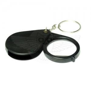 Лупа просмотровая 6х d=35 мм, брелок/пластик