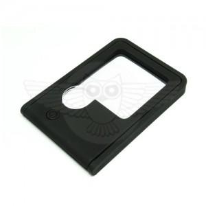 Лупа раскладка 2,5х 45х45 мм и 5х d=9 мм с подсветкой