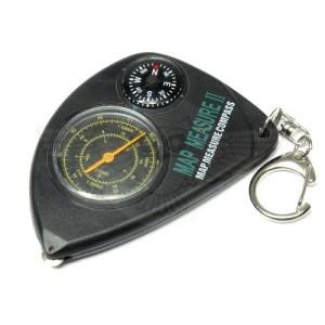 Курвиметр с компасом брелок