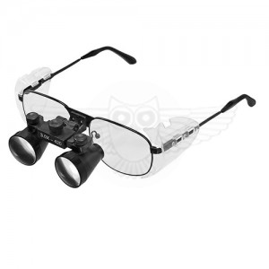 Лупа очки бинокулярная микмед HR 300 3х f=420
