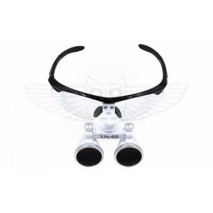 Лупа-очки бинокулярная 3,5х f=420 мм (Хирургическая/Стоматологическая)