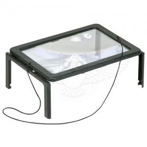 Линза Френеля 2,5х, 240 мм х 165 мм, столик