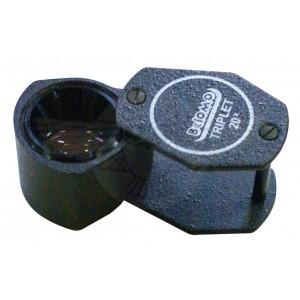 Лупа ювелирная 20х d=7 мм, ЛП-4-20х, БелОМО