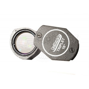 Лупа ювелирная 10х, d=17 мм, ЛП-3-10x-09, Triplet, БелОМО